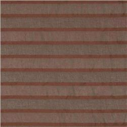 Eroica Fancy Stripe Sheer Brown