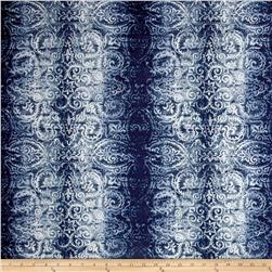 Bryant Indoor/Outdoor Batu Batik Chambray