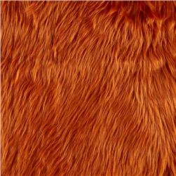 Faux Fur Luxury Shag Amber