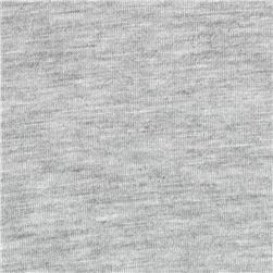 Rayon Cotton Jersey Knit Light Grey