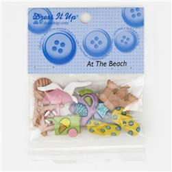 Dress It Up Embellisment Buttons  At The Beach