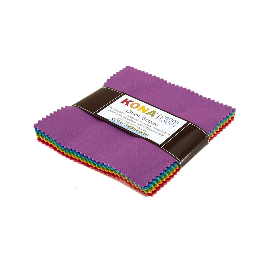Kona Cotton New Bright Charm Squares