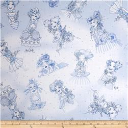 Flora Bleu Lady Toss Blue
