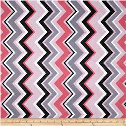 Michael Miller Chevy Chevron Girl Fabric