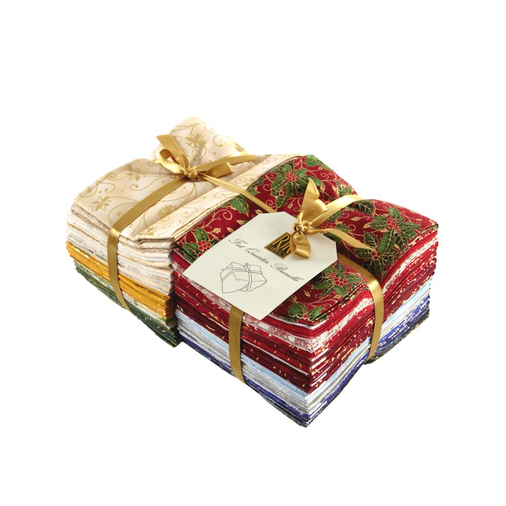 Holiday Accents Classics 2013 Fat Quarter Assortment