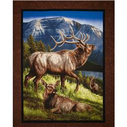 "Wild Wings Elkmont Ridge Wall Panel-36"" Multi"