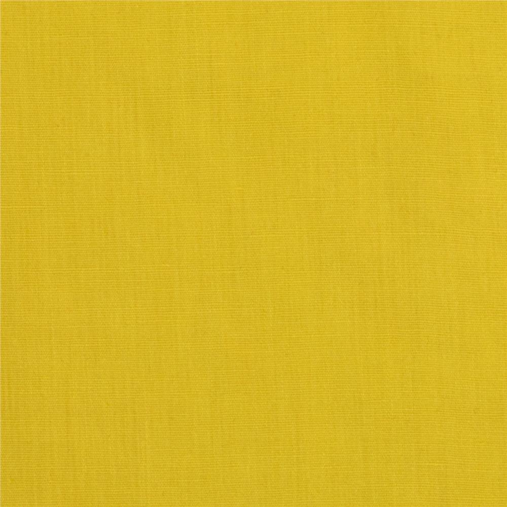 Americana Stretch Cotton Poplin Yellow