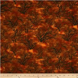 Sleepy Hollow Creepy Trees Orange