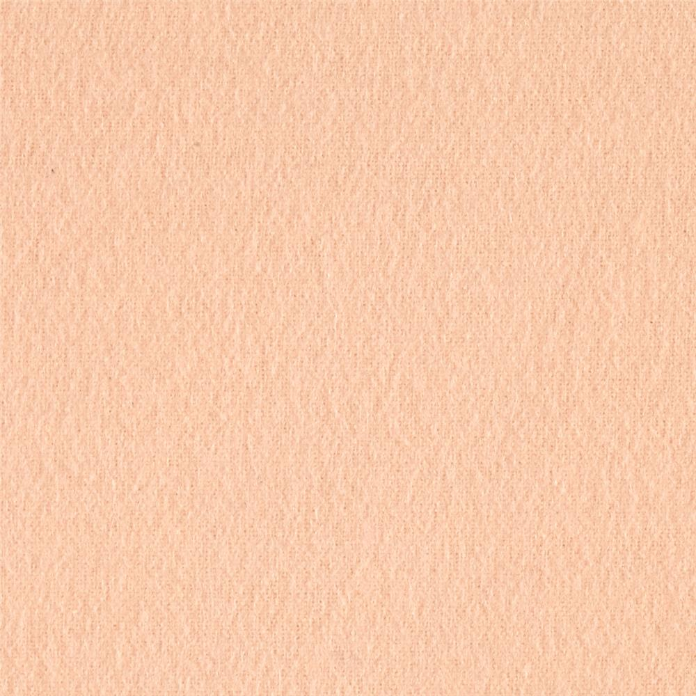 Kaufman Flannel Solid Creamsicle