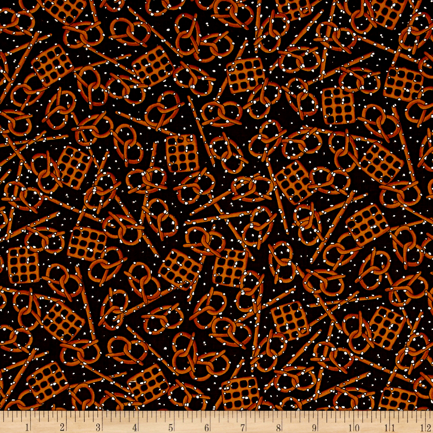 Image of In Doubt Drink Stout Pretzels Stout Fabric