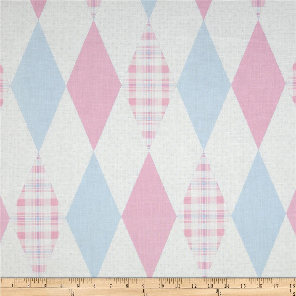 In The Nest Argyle Pink/Blue