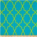 Michael Miller Coco Cabana Moroccan Lattice Aqua