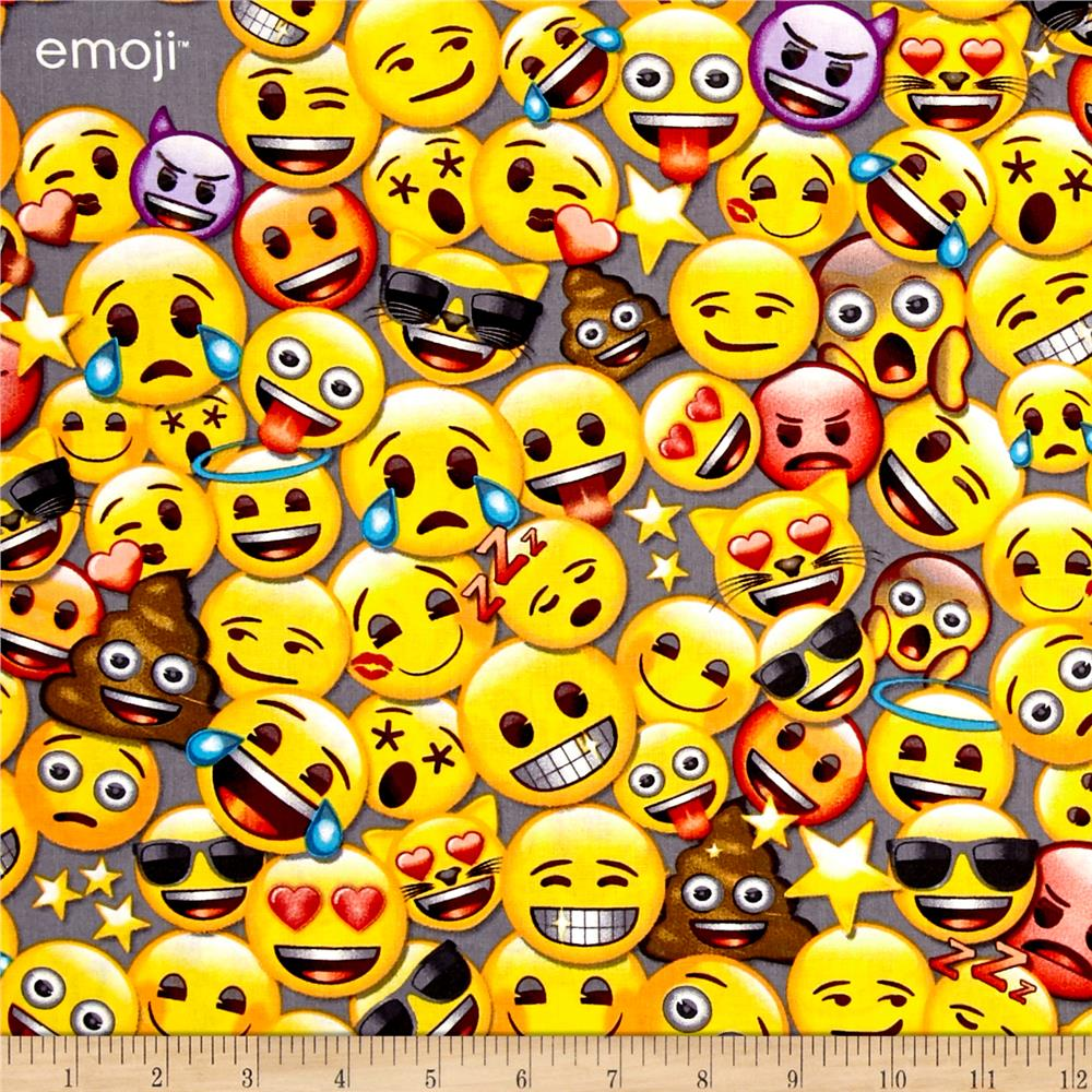 emoji all the emoji discount designer fabric
