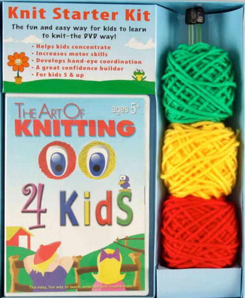 The Art of Knitting for Kids DVD Kit