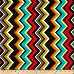 Michael Miller Chevy Chevron Retro Fabric
