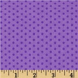 Kaufman Spot On Pindot Violet