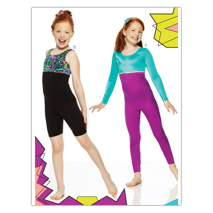 Kwik Sew Girls Girls' Unitard (3887) Pattern