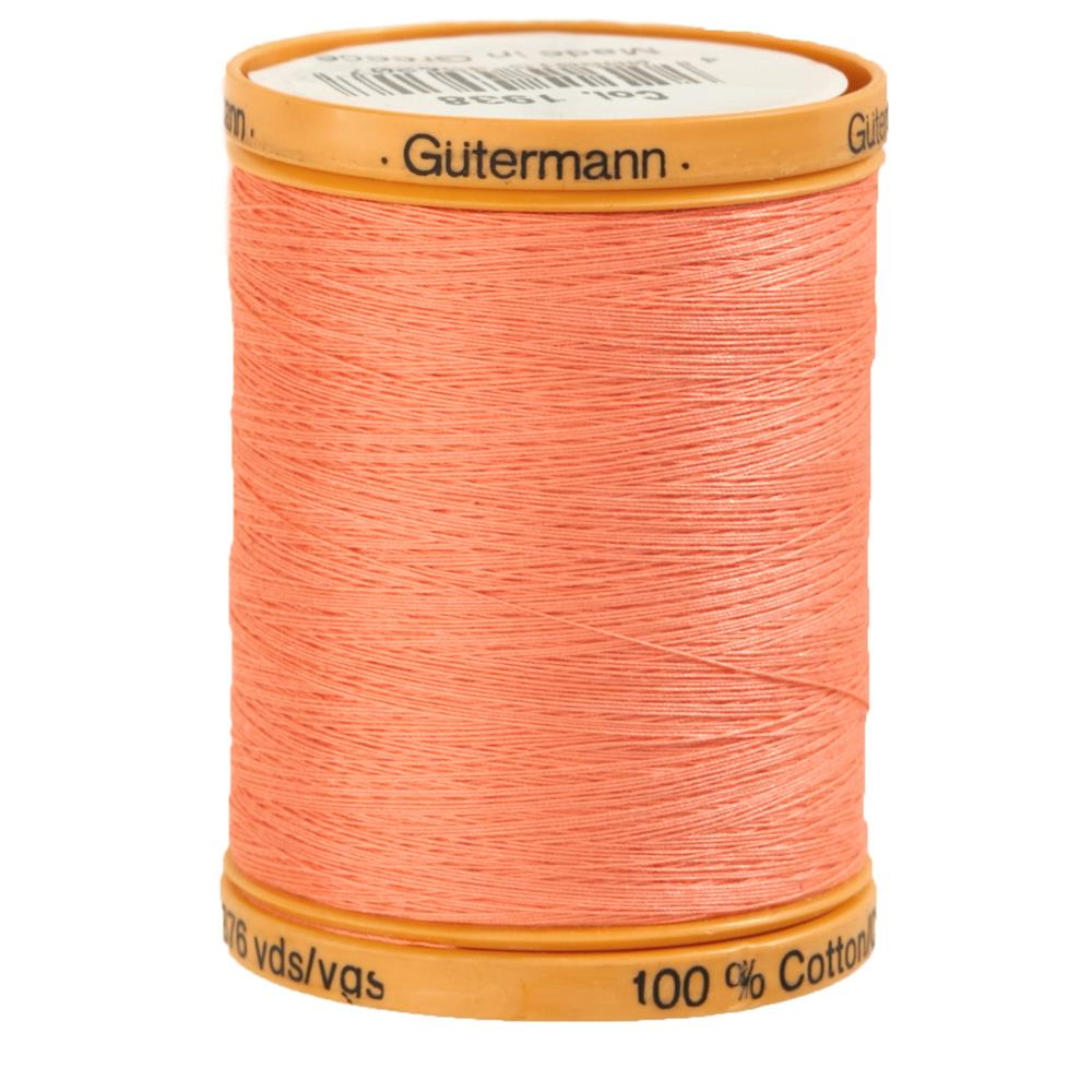 Gutermann Natural Cotton Thread 800m/875yds Salmon