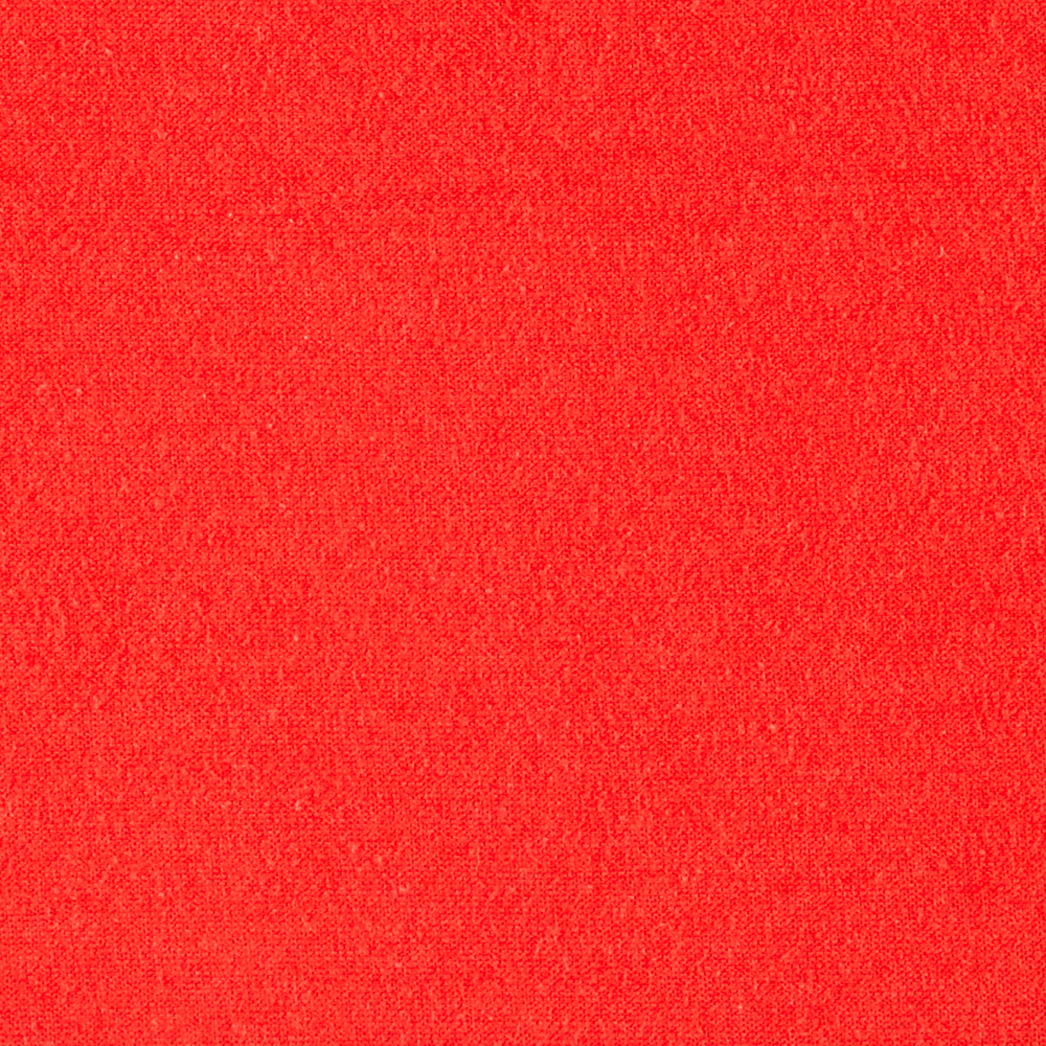 Image of Cotton Spandex Jersey Knit Tangerine Fabric