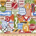 Retromobilia Traffic Signs White