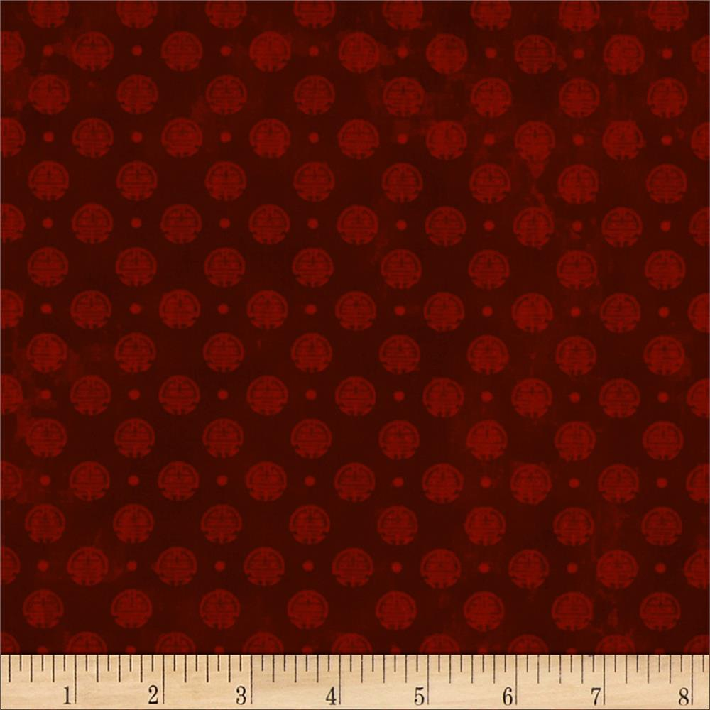 Birdsong Coin Dot Red