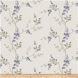 Fabricut  Linen Embroidered Brookdale Chambray