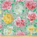 Kaffe Fassett Rose Bloom Gray