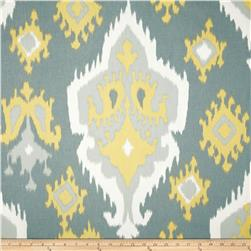 Premier Prints Ikat Macon Saffron Fabric