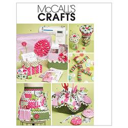 McCall's Sewing Machine Cover Pattern Boxes, Container and Organizer Pattern M6095 Size OSZ