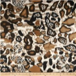 Fleece Print Habitat Brown