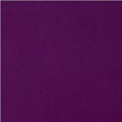 Venecia Stretch ITY Jersey Knit Solid Purple