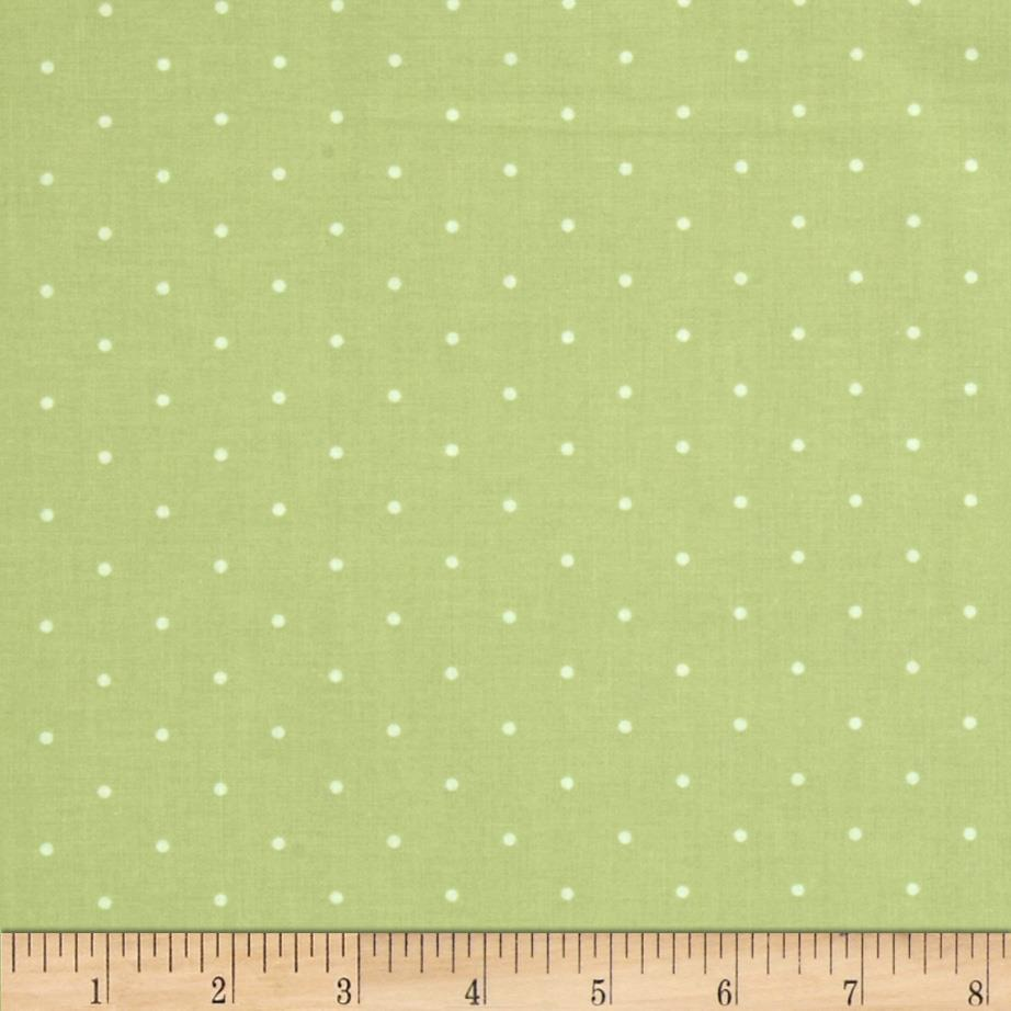 Tranquility Pin Dot Green