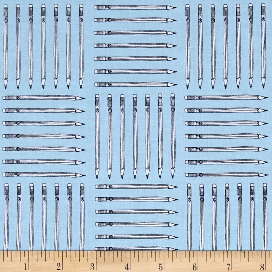 Windham Desk Job Pencils Sky Blue