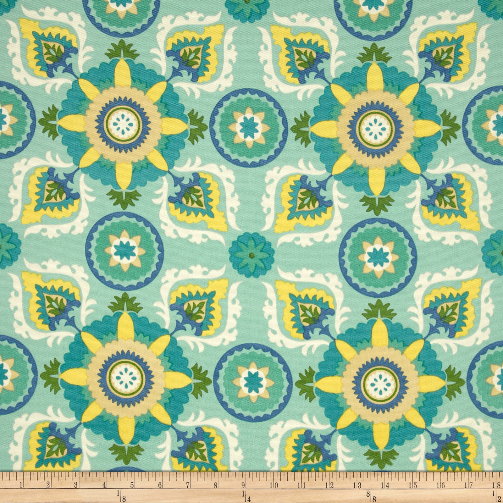 Swavelle/Mill Creek Indoor/Outdoor Callo Summer Shower Fabric