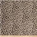 Jaclyn Smith 02100 Linen Blend Leopard