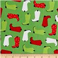 Kaufman Jingle 4 Boots Green