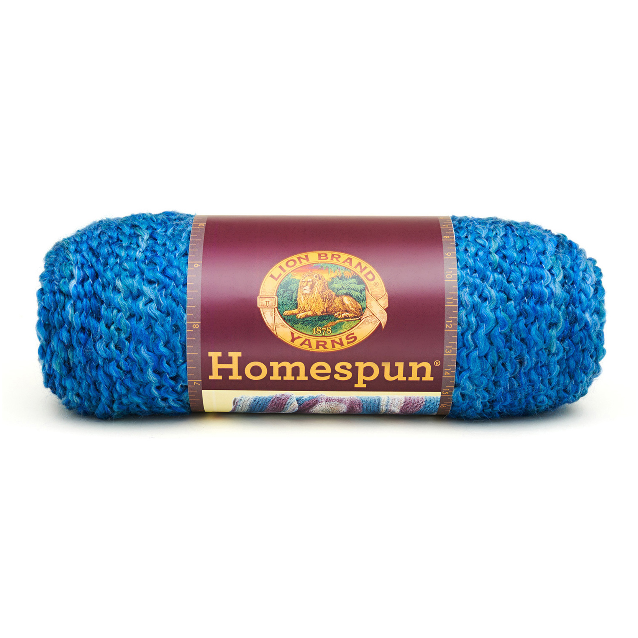 Lion Brand Homespun Yarn (368) Montana Sky