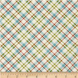 Moda The Treehouse Club Picnic Plaid Vanilla/Splash