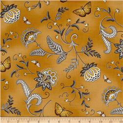 Moda Bee Inspired Nature's Floral Honey Yellow