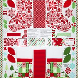 "Moda Jingle 24"" Panel Multi"