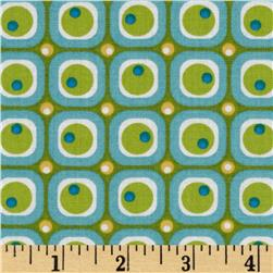 Moda ABC Menagerie Bubble Blocks Turquoise