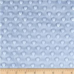 Minky Cuddle Dimple Dot Dusty Blue Fabric