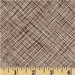 Architextures Grid Plaid Chestnut