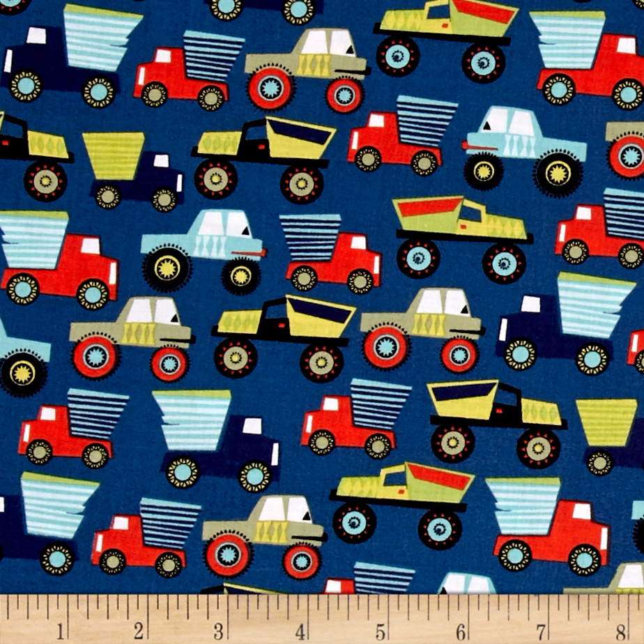 Michael Miller Little Movers Little Movers Nite Fabric