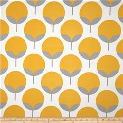 Premier Prints Indoor/Outdoor Caroline Yellow/Grey