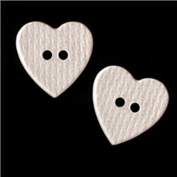 Novelty Buttons 3/4'' Loveland White