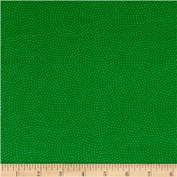 Timeless Treasures Flannel Spin Dot Grass