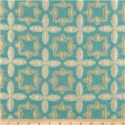 Waverly Stardust Jacquard Aquamarine