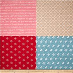 Riley Blake Modern Minis Fat Quarter Panel Multi