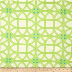 Waverly Williamsburg Lamerie Lattice Linen Citron